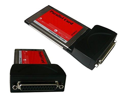 Kalea-Informatique–Scheda PCMCIA/Cardbus–1port parallele IEEE1284vera porta LPT (e non emulazione)–DB25–Chipset Wch