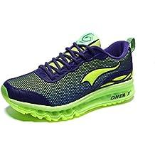Onemix Air Zapatillas para Correr y Asfalto Deportivas Para Hombre Transpirable Para Correr Al aire Libre