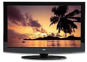 """CGV Orbital L26WIT10 TV LED 26"""" (66 cm) avec fonction enregistrement HD TV 4 HDMI VGA USB Noir laqué"""