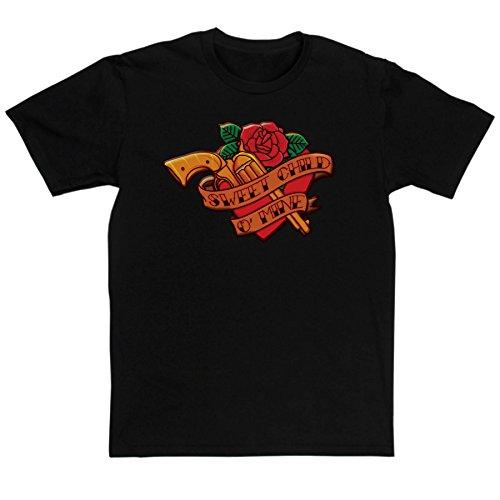 Men's Sweet Child O Mine Classic Rock Music T-shirt