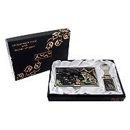 Mère de perle mgpie & Tiger Design porte-clés Support Porte-cartes crédit Nom Porte Carte d'identité Slim Argent cas de