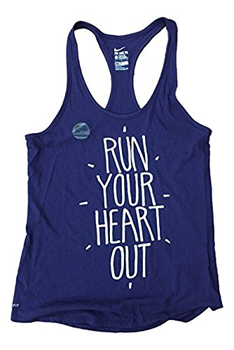 Nike Womens Dri-Fit Run Your Heart Tank Top Small