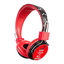 Swagg SWHP-BA-Shoes Bling with Mic Headphone
