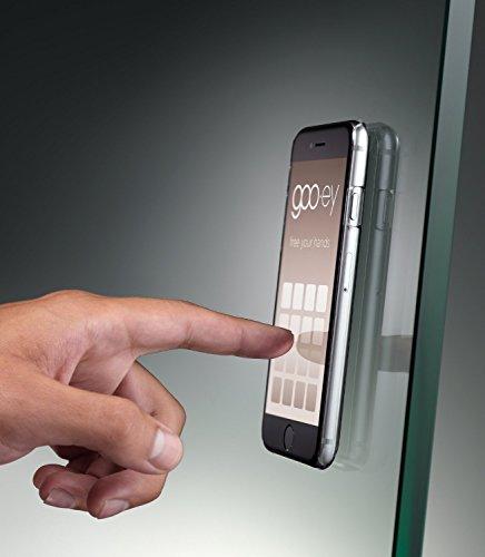 Melissa Odabash x goo.ey - Étui coque mains libres pour téléphone portable Apple iPhone 6 / 6S (Chevron) Black Palm