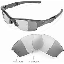 sunglasses restorer Lentes de Recambio Fotocromáticas para Oakley Flak Jacket | Ideal para la Práctica Deportiva