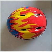 XDXDWEWERT Bicicleta Cascos para niños Bicycle Casco para Montar a Caballo al Aire Libre Casco (Rojo)