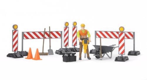 Image of Bruder 62000 Construction Figure Set
