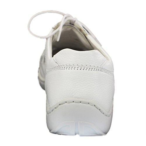 Waldläufer, Scarpe stringate donna Bianco (bianco)