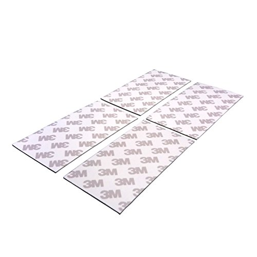 4-pice-3M-CIP66-Double-face-adhsives-ruban-50-x-100-mm