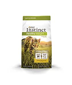 Nature's Variety Instinct Healthy Weight Grain Free Chicken Meal Formula Dry Cat Food, 5 lb. Bag