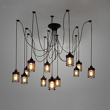 GOOD AND GOOD-chandelier@Vintage Thomas Edison more DIY adjustable ceiling light pendant lamp chandelier and elegant modern dining