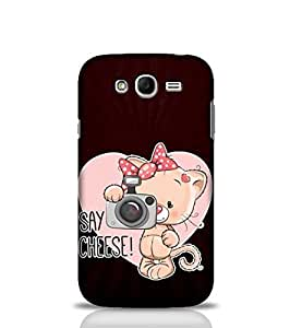 Stylebaby Say Cheese Case For Samsung Galaxy Grand (Multicolor)