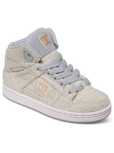DC Shoes Rebound Tx Se, Baskets Hautes Fille Beige