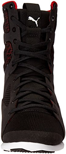 Puma Ferrari High Boot Synthétique Baskets Puma Black- Puma Black