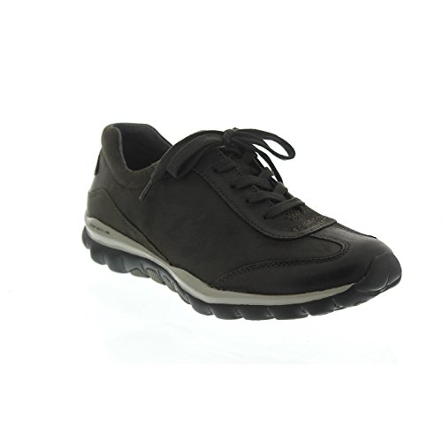 Gabor Shoes Rollingsoft, Scarpe Stringate Derby Donna Grigio (30 Anthrazit)