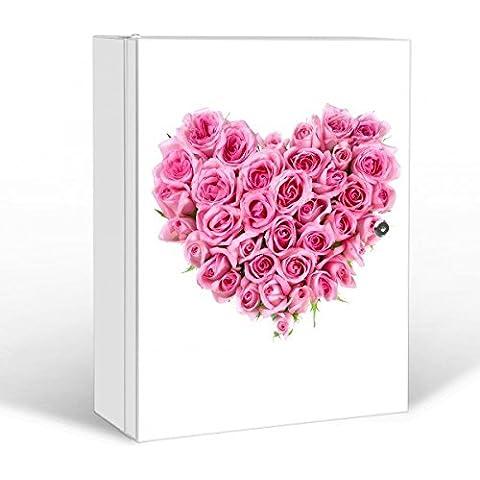 banjado–abschliessbarer Medicamentos Armario 35x 46x 15cm con diseño Rose Corazón