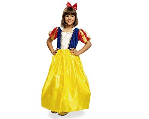 Imagen de my other me  disfraz de blancanieves, talla 7 9 años viving costumes mom00713