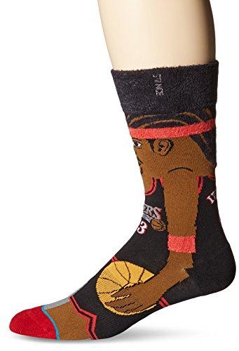 stance-philadelphia-76ers-allen-iverson-cartoon-nba-legends-socks-l