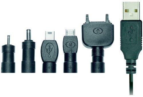 Trust USB-Ladekabel Pack für Nokia & Sony-Ericsson (Usb Tip Pack Charge)
