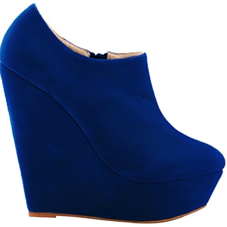 Find Find Find Nice , Plateforme Femme - Bleu - Bleu, 36.5 EU - B07HCLN1MK - b6cb77