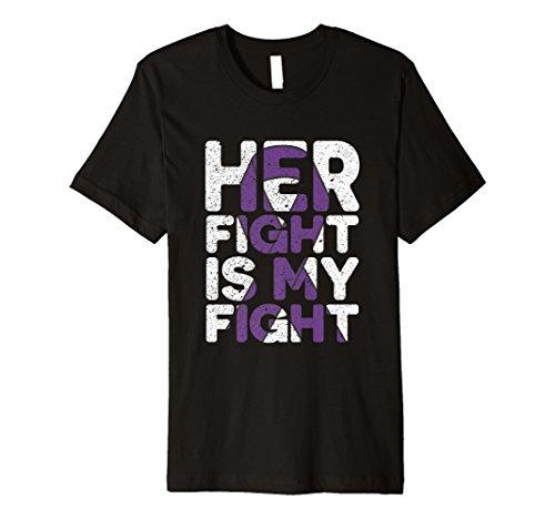 Ihr Kampf IS MY Fight Alzheimer Bewusstsein Premium T-Shirt