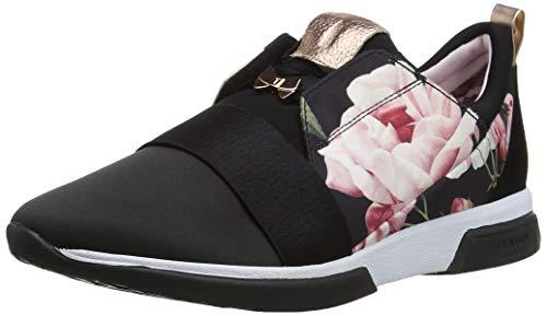 Ted Baker Cepa, Women's Sneakers, Black (Iguazu Black Ig Blk), 8 Uk (41 Eu)