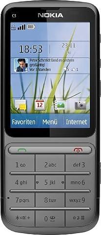 Coque Nokia C3 - Nokia C3-01 Touch and Type Warm Grey