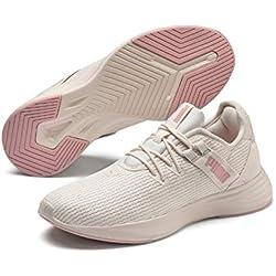 PUMA Radiate XT Wn's, Zapatillas Deportivas para Interior para Mujer, Pastel Parchment-Bridal Rose, 40.5 EU