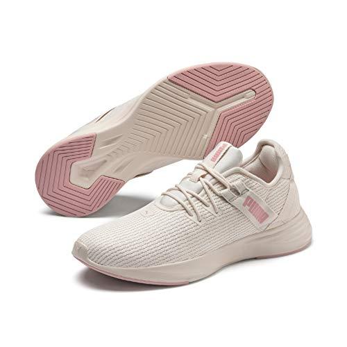 PUMA Radiate XT Wn's, Zapatillas Deportivas para Interior para Mujer, Pastel Parchment-Bridal...