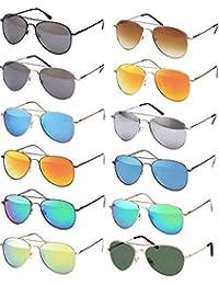59aa232e5cc0a7 Balinco Lunettes de soleil aviateur lunettes de soleil Années  70 Ans Homme    Femmes lunettes