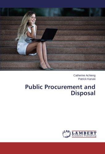 Public Procurement and Disposal