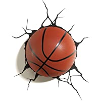 3D Light FX Plastic Basketball Light - Orange/ Black preiswert