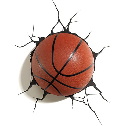 Basketball Wandleuchte LED 3D