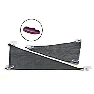 GenRev 2pc Reptile Hammock Lounger Accessories Set for Large & Small Bearded Dragons Anoles Geckos Lizards or Snakes… 24