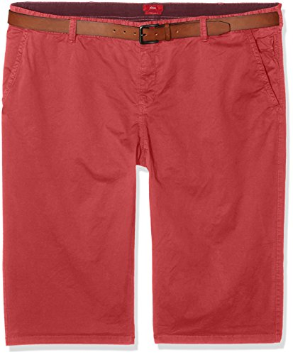 s.Oliver Big Size Herren Shorts 15704745325 Rot (Molberry 4524)