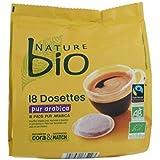 Nature bio café pur arabica 18 dosettes 125g Envoi Rapide Et Soignée ( Prix Par Unité )