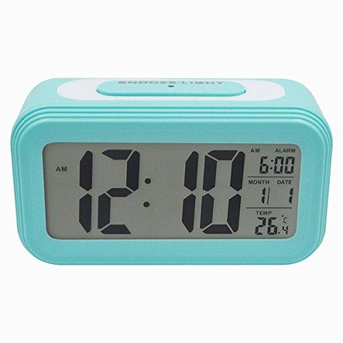 COOJA Reloj Despertador Digital con Sonido Fuerte