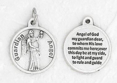 Guardian Angel Healing Medal