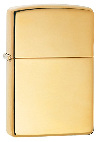Heavy Wall ARMOR CASE High Polished BRASS ZIPPO