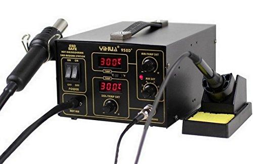 Yihua 952D+ - Italtronik-Estación de soldadura y desoldadura de aire caliente
