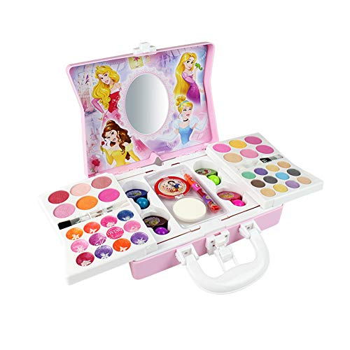 c Makeup kit for Disney Princess Style for Girl Practicing Make Up Skill Toy Ornaments ()