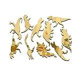 10pcs/set di mirror Wall Stickers Stereo dinosauro rimovibile Wall Sticker camera fai da te Bambini Decorazione parete decalcomania di arte Regard