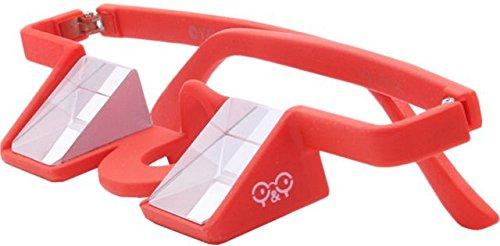 Y&Y Gafas de aseguramiento Plasfun Rojo