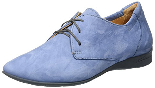 Think! Wunda, Derby Femme Bleu (Denim/Kombi 79)