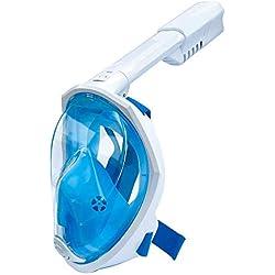SXC Masque de Plongée Professionnel, Easybreath Anti Buée et Anti-Fuite sous-Marineen Apnée Snorkel Masque avec la Monture pour Caméra Gopro,Adapté pour Adulte et Enfant