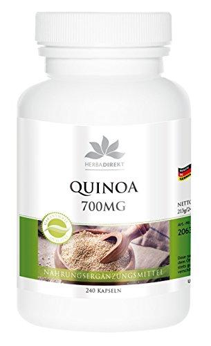 Herbadirekt - QUINOA 700MG - 240 Kapseln - für 80 Tage