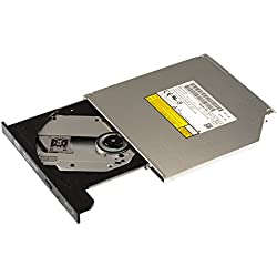 Panasonic Sata graveur interne Blu-ray BD-MLT UJ272 S (UJ272 avec panneau avant noir), ultra slim, 8,9 mm de haut