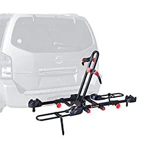 Allen Sports Easy Load Deluxe 2-Bike Hitch Rack, Black