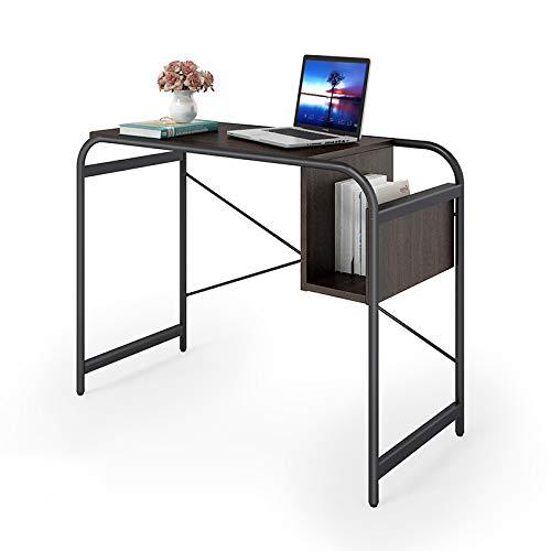 Folding table LVZAIXI Computer-Schreibtisch, Gaming-Schreibtisch, Holz-Metall-Herstellung, Heavy-Duty-Laptop, kompakter Schreibtisch - Heavy-duty-computer