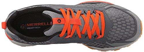 Merrell All Out Crush Trail Running Shoe Grey / Orange